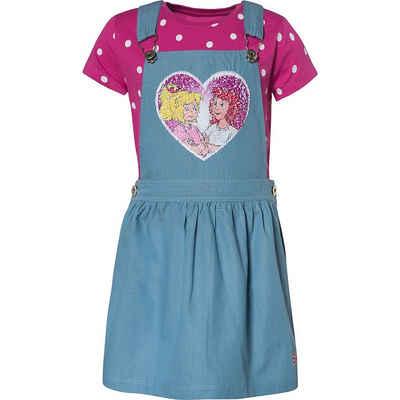 Bibi und Tina Latzrock »Bibi und Tina Kinder Set Latzrock + T-Shirt mit«