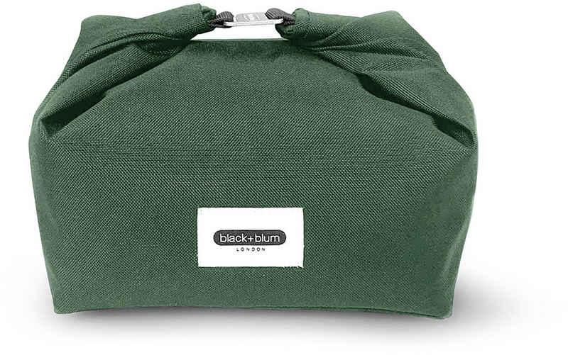 black+blum Lunchbox »Lunchbag«, Kunststoff, (1-tlg), recyceltes PET, wasserabweisend, 670 ml
