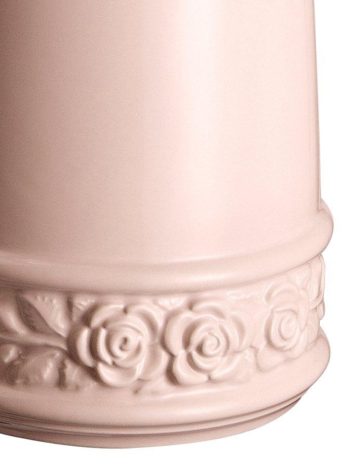 WC-Garnitur in rosé