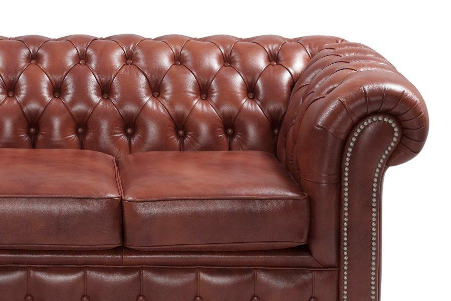 Heine home sofa im klassisch englischen club stil for Sofa orientalischer stil