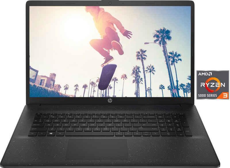 HP 17-cp0234ng Notebook (43,9 cm/17,3 Zoll, AMD Ryzen 3 5300U, Radeon Graphics, 512 GB SSD, Kostenloses Upgrade auf Windows 11, sobald verfügbar)