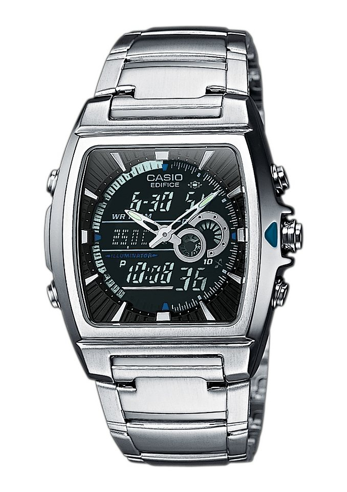 Casio Edifice Chronograph »EFA-120D-1AVEF« in silberfarben