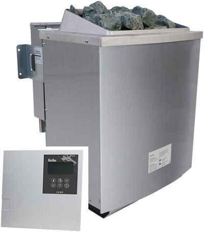 Karibu Bio-Saunaofen, 9 kW, externe Steuerung, »Classic Bio«, mit Steinen