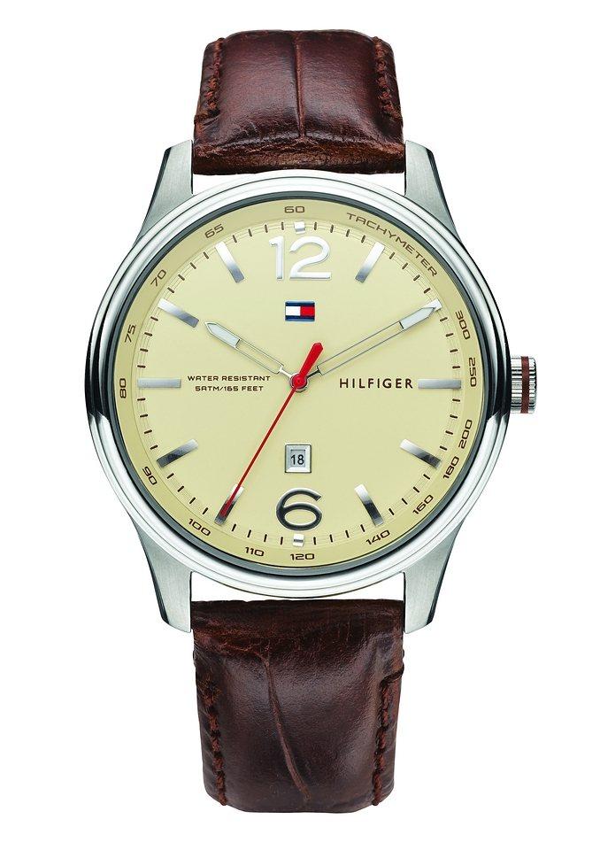 "Tommy Hilfiger, Armbanduhr, ""1710315"" in braun"