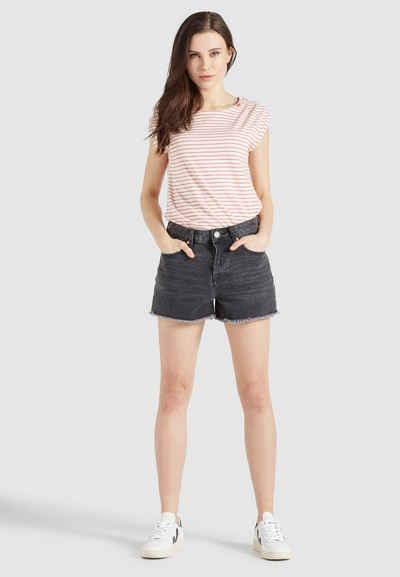 khujo Hotpants »MATILDE« (1-tlg) aus Baumwolle im Regular Fit mit Mid Waist