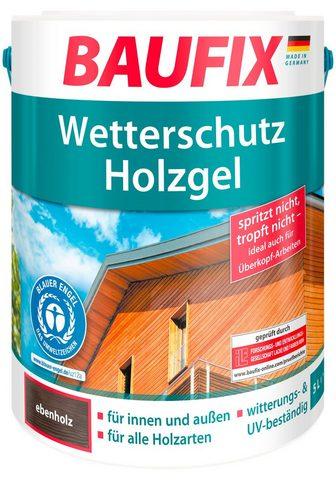Baufix Holzschutzlasur »Bbenholz« 5 Liter bra...