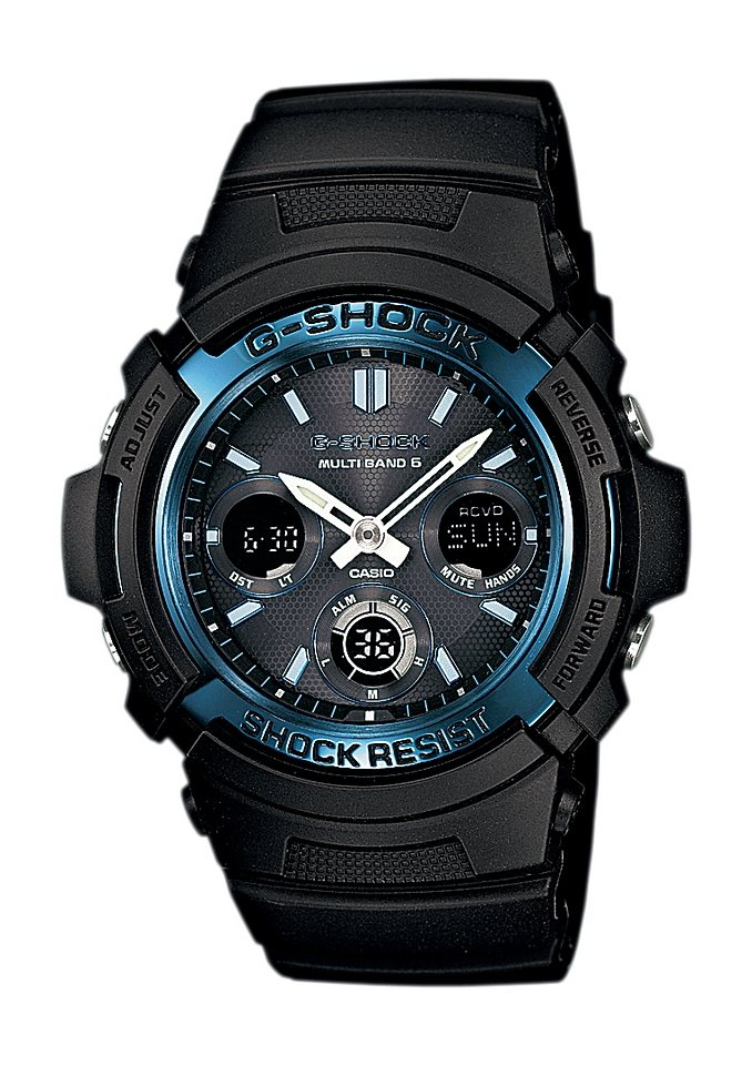 Casio G-Shock Funkchronograph »AWG-M100A-1AER« in schwarz