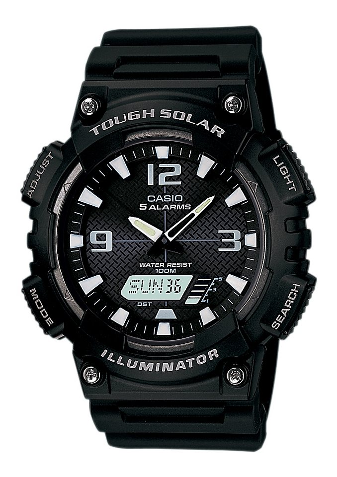 Casio Collection Chronograph »AQ-S810W-1BVEF« in schwarz