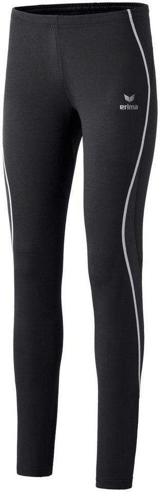 ERIMA Performance Laufhose lang Damen in schwarz