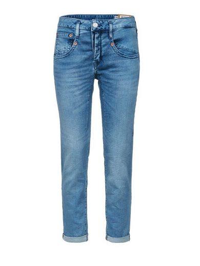 Herrlicher 7/8-Jeans mit raffinierten Abnähern »Shyra Cropped«