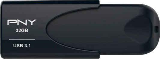 PNY »Attache 4« USB-Stick (USB 3.1, Lesegeschwindigkeit 80 MB/s)