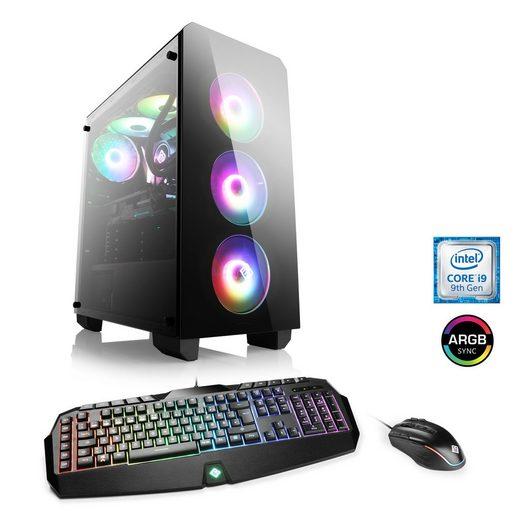 CSL Extreme Gaming PC Core i9-9900K, RTX 2080 Ti, 32 GB DDR4, SSD »HydroX T9975 Wasserkühlung«