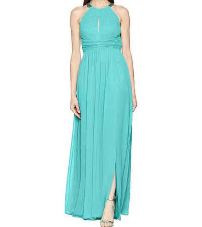 Vera Mont Sommerkleid »VERA MONT Instafame Maxi-Kleid ansehnliches Damen Cocktail-Kleid mit Plissee-Optik und Ziersteinen Abend-Kleid Blau«
