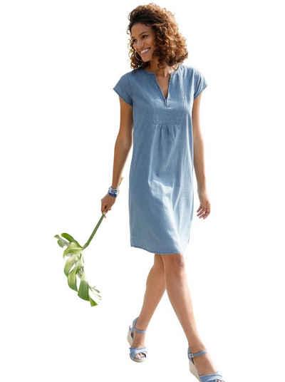 Casual Looks Jeanskleid »Tunika-Kleid«