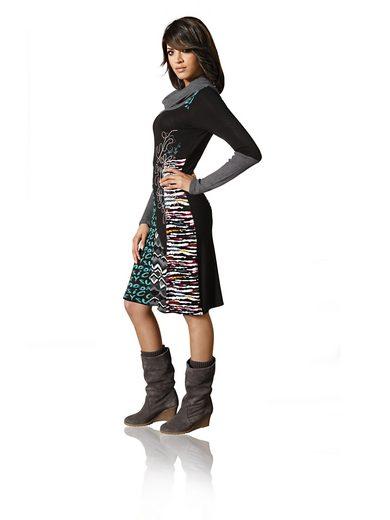 LINEA TESINI by Heine Shirtkleid mit Stickerei