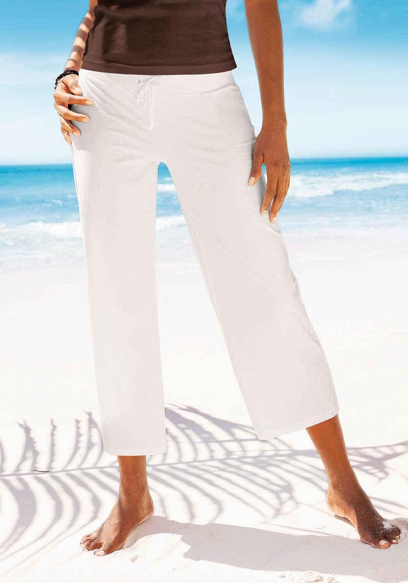 Beachtime 7/8-Strandhose aus weichem Jersey