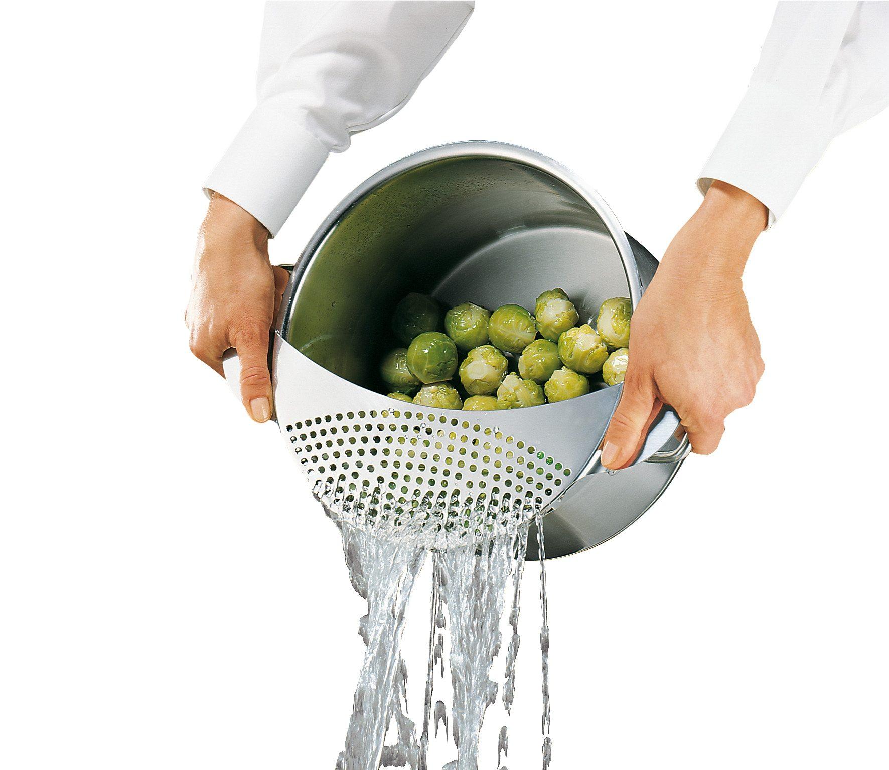 Küchenprofi Abgieß-Sieb