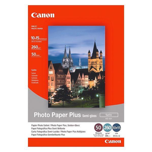 Canon Fotopapier »Plus-Semigloss 10x15 cm«