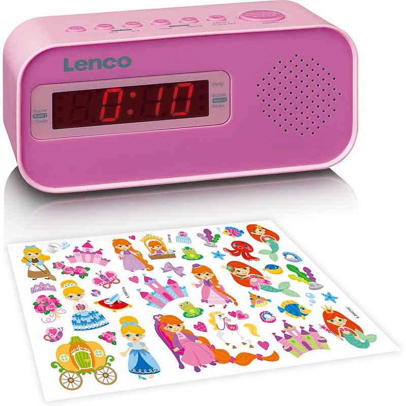 Lenco Radiowecker »CR-205PK - Radiowecker mit UKW-Radio und«