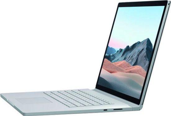 Microsoft Surface Book 3 Notebook (38,1 cm/15 Zoll, Intel Core i7, - GB HDD, 256 GB SSD, inkl. Office-Anwendersoftware Microsoft 365 Single im Wert von 69 Euro)