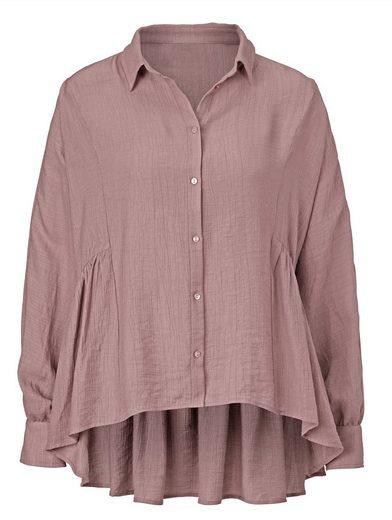 Reken Maar Bluse mit seitlicher Raffung in der Taille