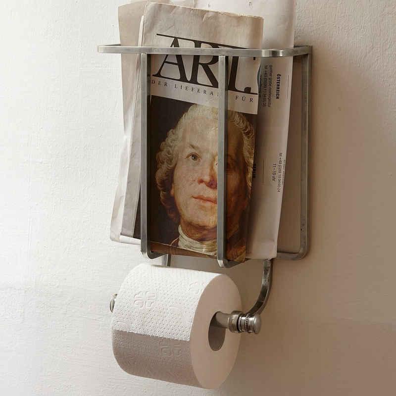 Mirabeau Toilettenpapierhalter »Mirabeau Toilettenpapierhalter Cay antiksilber«