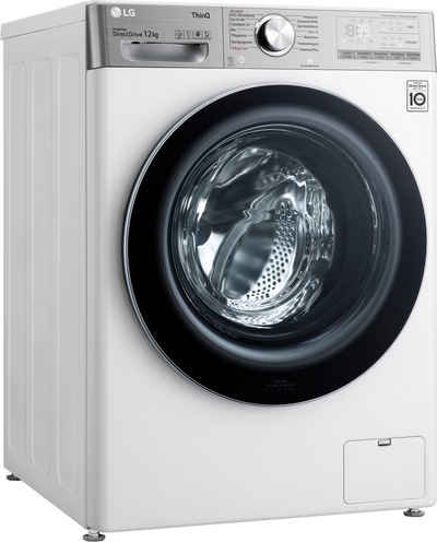 LG Waschmaschine F4WV912P2, 12 kg, 1400 U/min