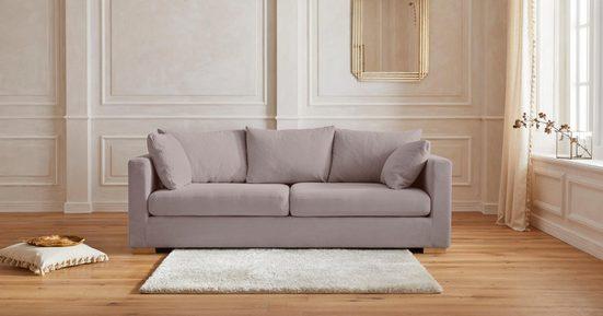 Guido Maria Kretschmer Home&Living 2,5-Sitzer »Arles«, Bezug im Baumwoll-/Leinenmix, mit Eichenbeinen