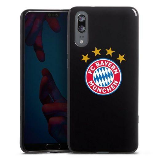 DeinDesign Handyhülle »FCB Logo mit Sterne - ohne Hintergrund« Huawei P20, Hülle FCB Sterne FC Bayern München