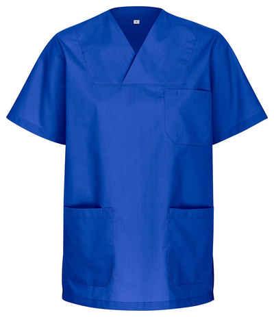 DESERMO Arbeitsjacke »Unisex Kasack Kurzarm« Waschbar bei 90 Grad hygienisch, autoklavierbar, Industriewäsche geeignet