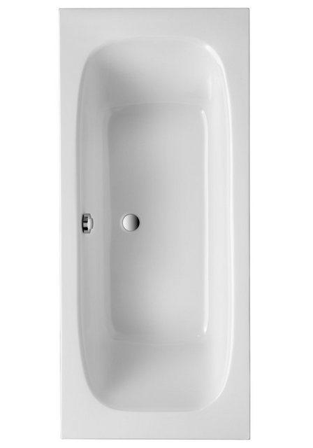 Badewannen und Whirlpools - OTTOFOND Badewanne »Malta 180«, (Komplett Set), inklusive Wannenträger  - Onlineshop OTTO