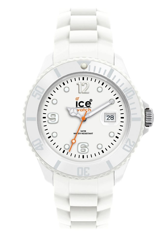 """Ice watch, Armbanduhr, """"SILI FOREVER White Unisex, SI.WE.U.S.09 Sili Forever"""" in white - unisex"""