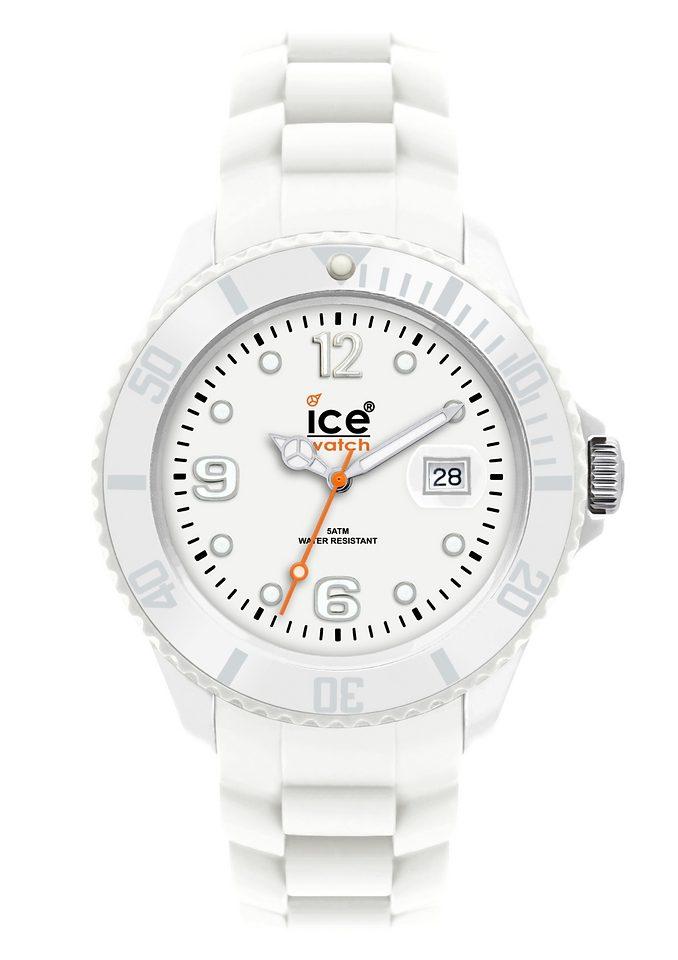 ice-watch Quarzuhr »SILI FOREVER White Unisex, SI.WE.U.S.09 Sili Forever«