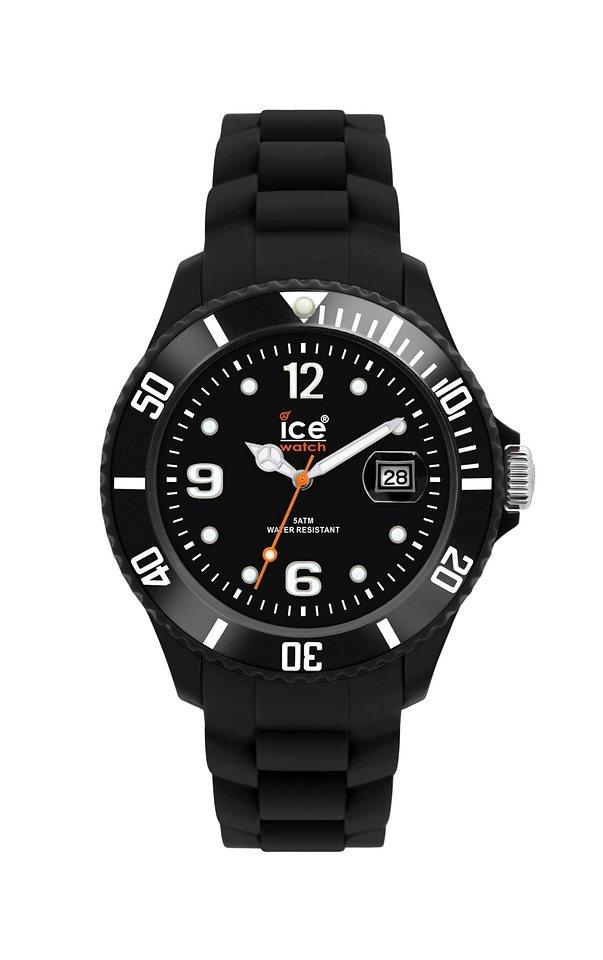 """Ice watch, Armbanduhr, """"SILI FOREVER Black Unisex, SI.BK.U.S.09 Sili Forever"""" in black - unisex"""