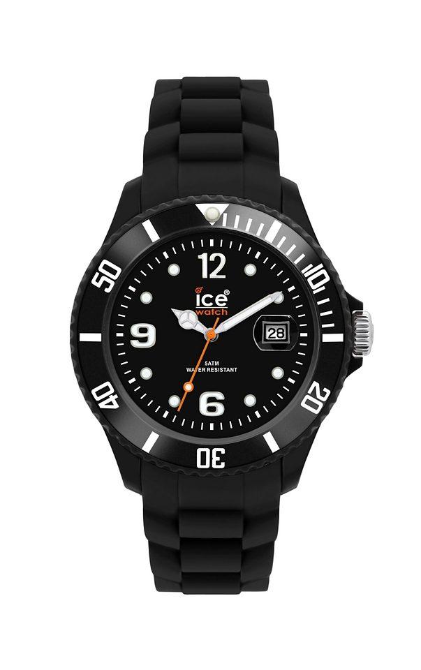 ice-watch Quarzuhr »SILI FOREVER Black Unisex, SI.BK.U.S.09 Sili Forever«