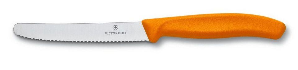 Victorinox Brötchen- Tomatenmesser in Orange