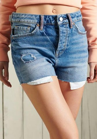 Superdry Jeanshotpants »SKINNY HOT SHORT« su co...