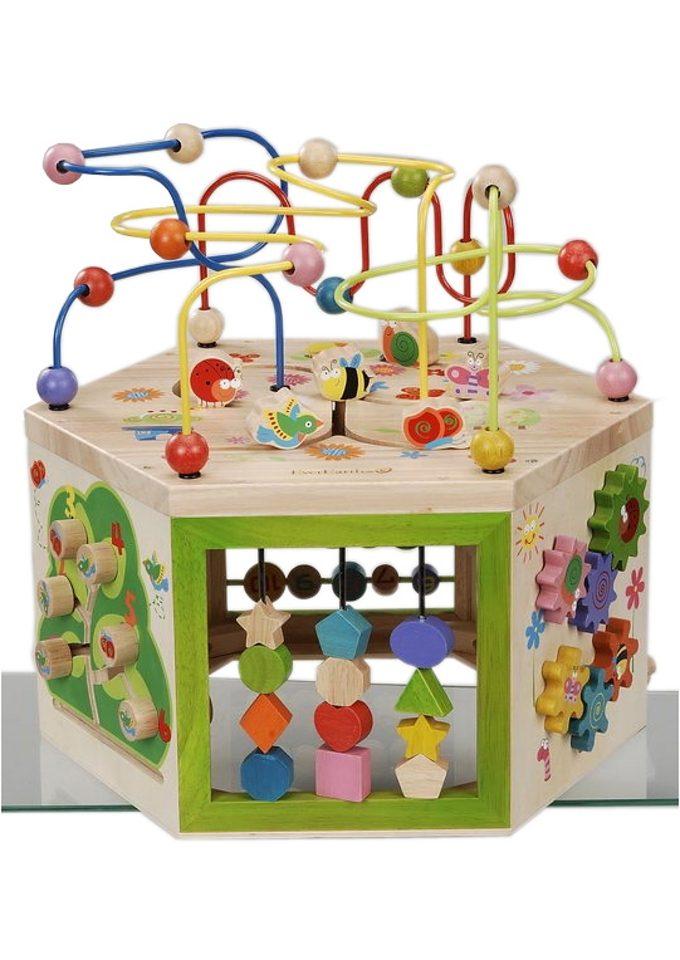 Spielcenter, EverEarth®, 7-in-1 Großes Garten-Spielcenter