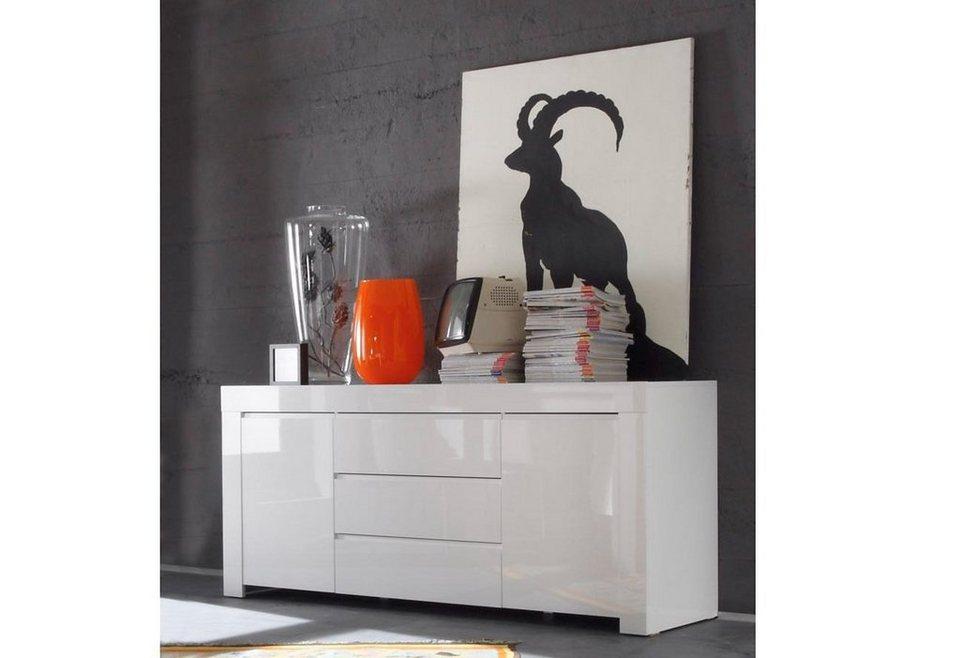 LC Sideboard, Breite 190 cm in weiß