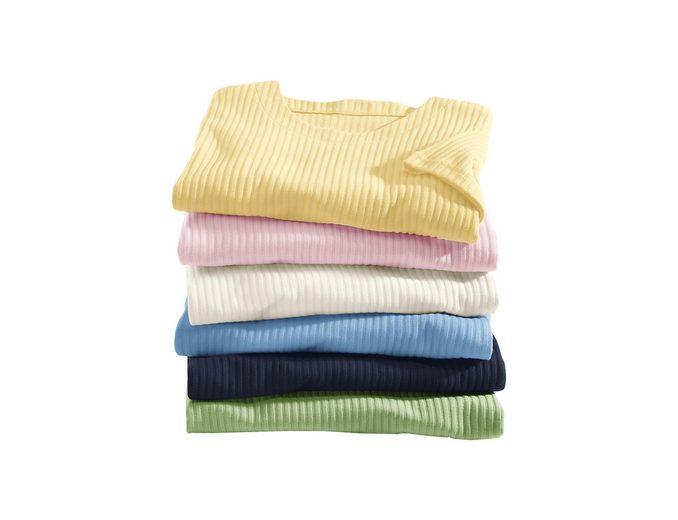 Classic Basics Rippen-Shirt mit Seitenschlitzen Zum Verkauf 2018 Rabatte Verkauf Online Bequem Online Mit Dem Verkauf Kreditkarte Online Freies Verschiffen Fabrikverkauf p1asf