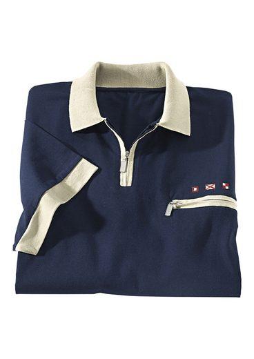 Classic Basics Poloshirt aus reiner Baumwolle