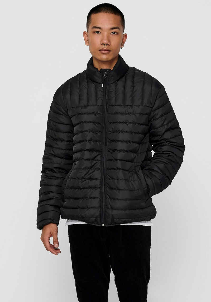 ONLY & SONS Steppjacke »PAUL QUILTED HIGHNECK JACKET«
