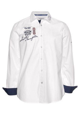 TOM TAILOR Polo Team Marškiniai ilgomis rankovėmis su Stick...