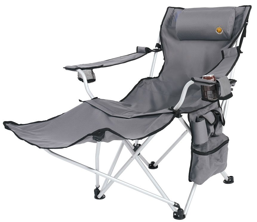 Grand Canyon Camping-Stuhl »Giga Foldable Chair« in grau