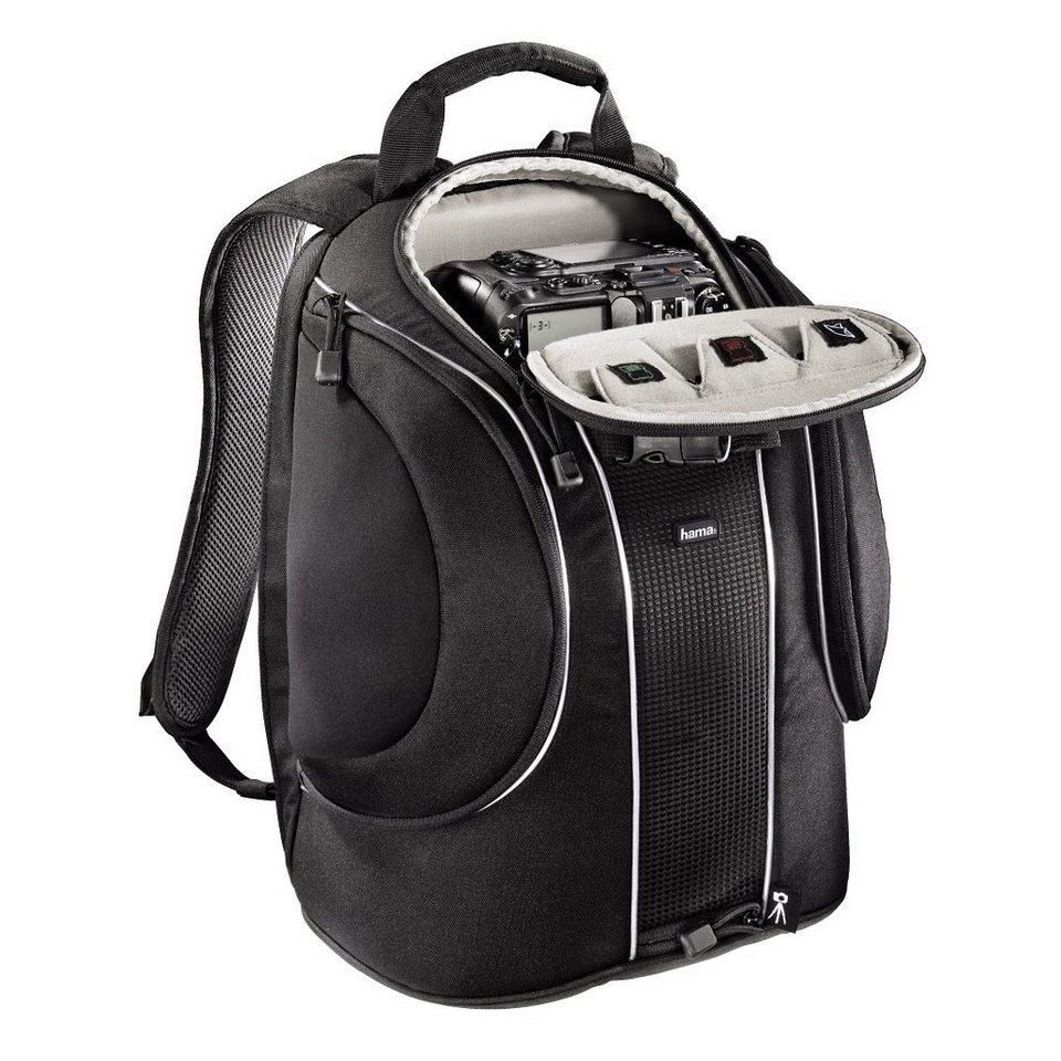 Hama Kamerarucksack für Spiegelreflex Kameras, Zubehör, Tablet »Kameratasche Foto Rucksack« in Schwarz