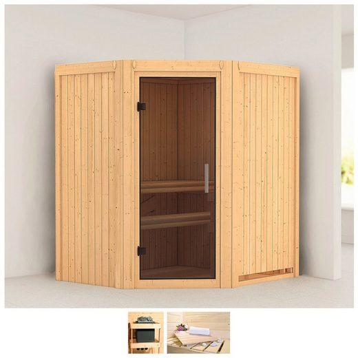 KARIBU Sauna »Tonja«, 175x152x198 cm, ohne Ofen