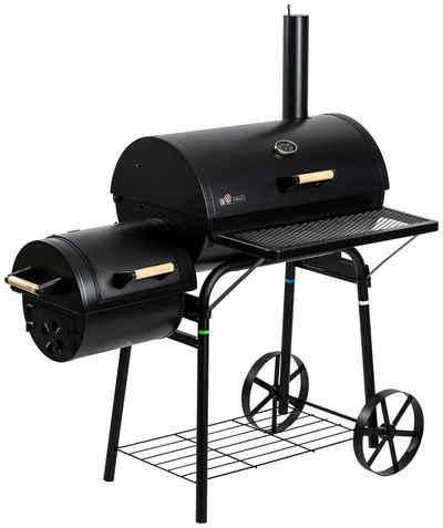 El Fuego Smoker »Dakota«, BxTxH: 122x66x133 cm