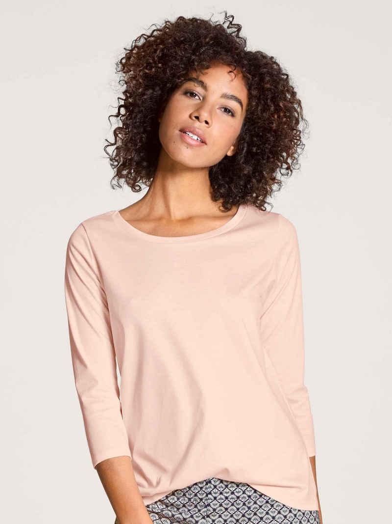 CALIDA Kurzarmshirt »Shirt, 3/4-Arm« (1-tlg)