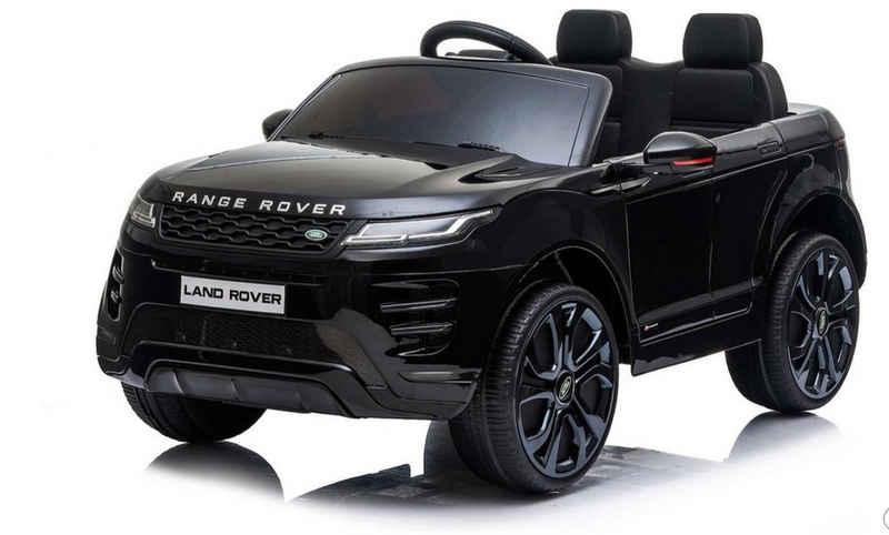 Toys Store Elektro-Kinderauto »Range Rover Evoque Suv Jeep Geländewagen Kinderauto Kinderelektroauto 12V Schw«, Belastbarkeit 35 kg