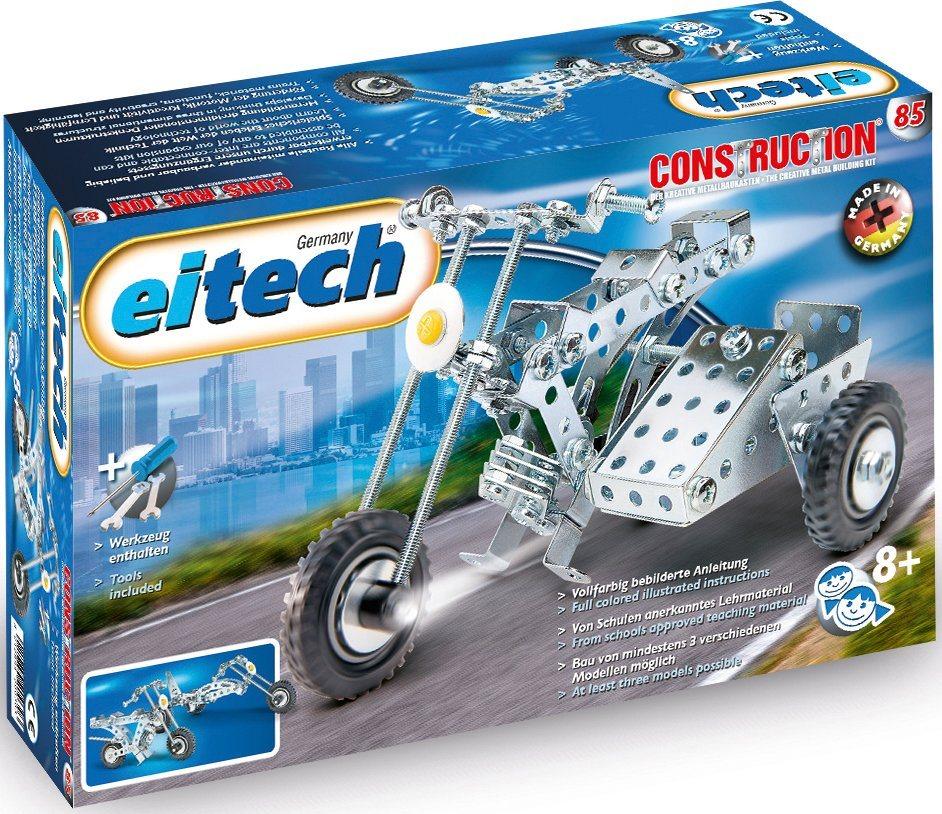 eitech metallbaukasten motorrad mit beiwagen 170 st made in germany online kaufen otto. Black Bedroom Furniture Sets. Home Design Ideas